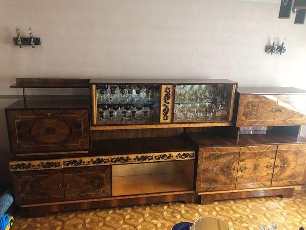 Meble  Kalwaryjskie :meblościanka , komoda , stół z krzeslami stan bdb