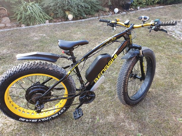 Fat bike rower elektryczny 3,5 kW