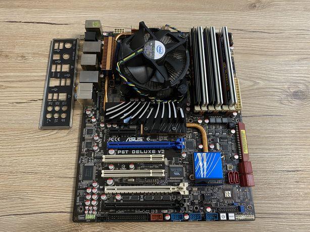 Комплект Asus P6T Deluxe V2 + intel i7-920 1366 socket + 10gb DDR3