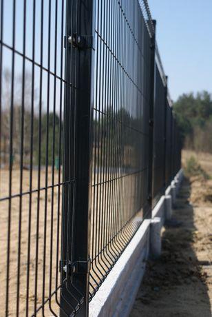 Panele ogrodzeniowe, Panel ogrodzeniowy -antracyt, wys. 1,73m, fi5mm