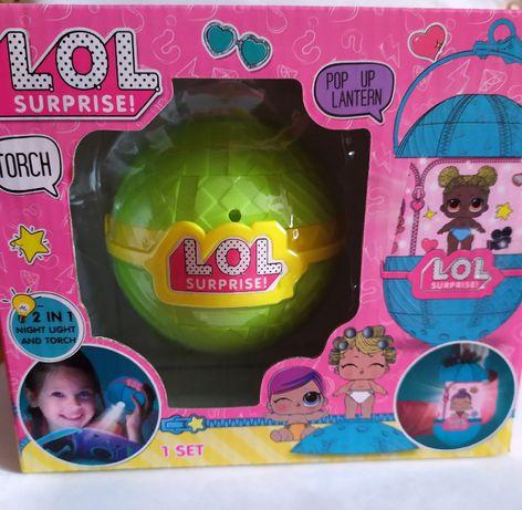 LOL Surprise ночник фонарик с куклой