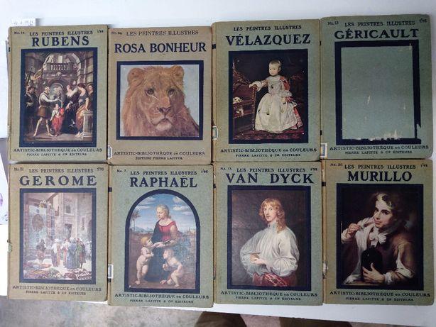 Livros de arte 8,  Raphael, Velázquez, Murillo.  Peintres Illustres
