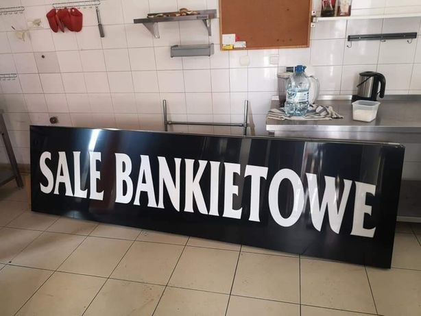 Kaseton reklamowy Reklama Led Sale Bankietowe