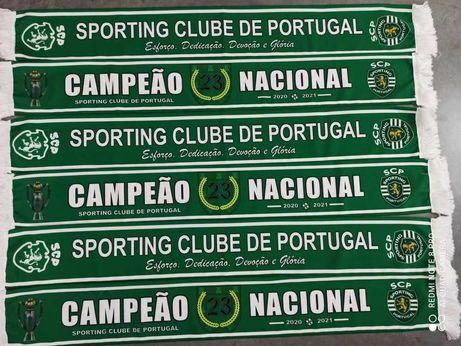 Cachecol - Bandeiras - T-shirt  Sporting Campeão !