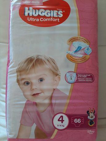 Продам подгузники Huggies Ultra comfort  4 (8-14 кг) для девочек