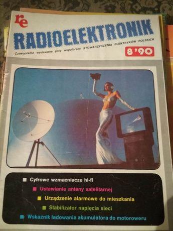 4 numery czasopisma re Radioelektronik, dla kolekcjonera + gratis