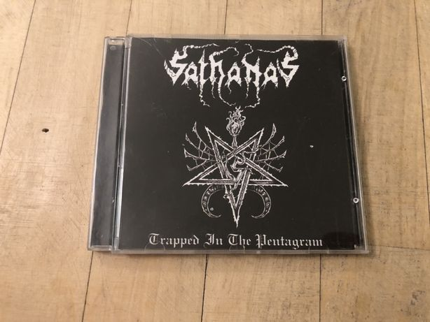 Sathanas - Trapped In The Pentagram CD