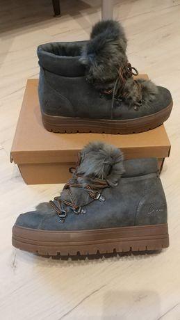 Coolway Oslo Grey buty zimowe damskie Nowe Zalando 39 Wysyłka