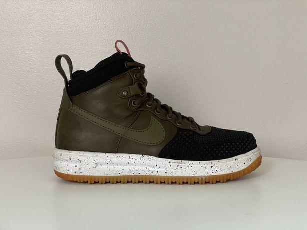 Nike Lunar Force 1 Duckboots - Black/Green - EU 42.5