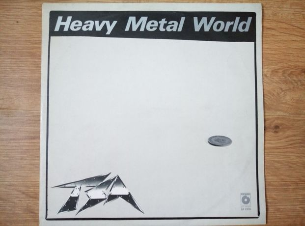 TSA heavy metal world winyl.