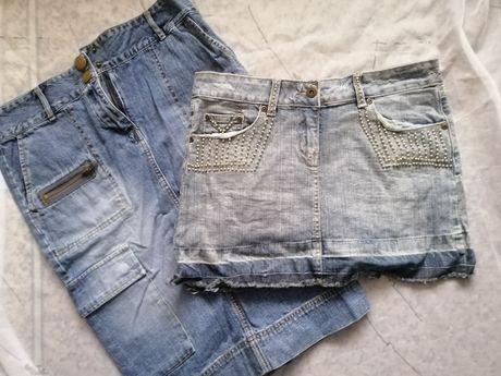 Юбки джинсовые М