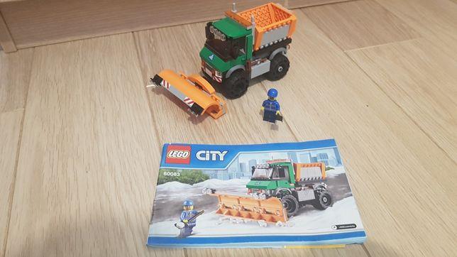 Klocki lego City nr zestawu 60083+ zabawka gratis
