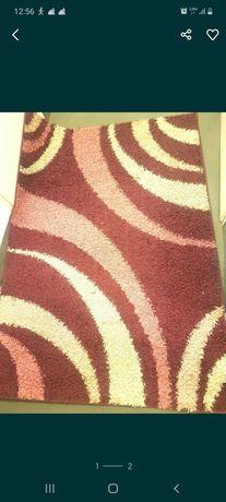 Piękny, modny dywan Shaggy długowłosy. 120x170