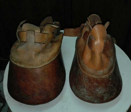 Protecções para cavalos desferrados