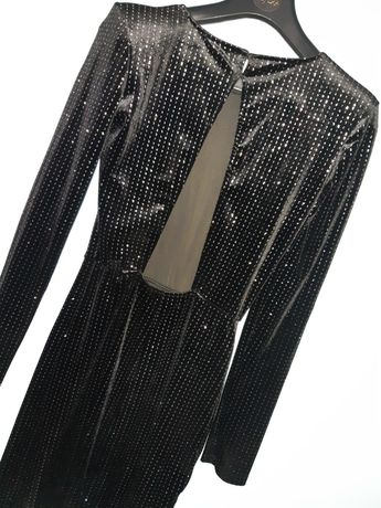 Sukienka brokatowa