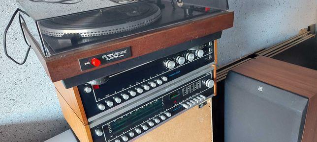 KlEOPATRA HI FI zestaw z adapter BERNARD +głośniki UNITRA 30 W 4 ohm