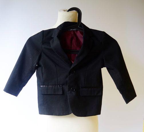 Marynarka Czarna Lindex 98 cm 3 lata Satynowe Wstawki Zara H&M Kids