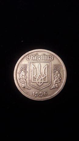 Монета 1 гривна 1996г.