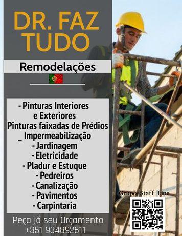 Dr. Faz Tudo Remodelações (Lisboa/Margem Sul) Preços m2