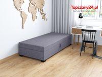 Jednoosobowe łóżko młodzieżowe 80/195 Tapczan +pojemnik +materac HIT