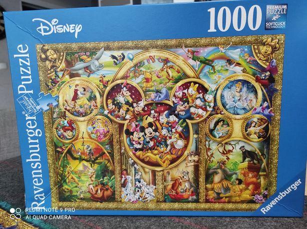 Puzzle Ravensburger The jest Disney Themes 1000
