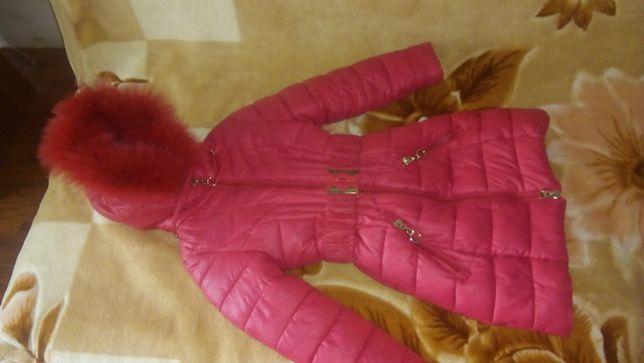 куртка для дівчинки 3-6 років