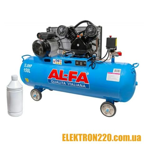 Компрессор AL-FA ALC150-2 ( 3.8 кВт , 740 л/мин) Гарантия 1 год!!!