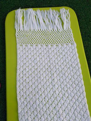 Echarpe Branca em Lã