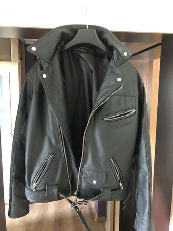 Skórzana kurtka motocyklowa, spodnie i kamizelka WITLEATHER