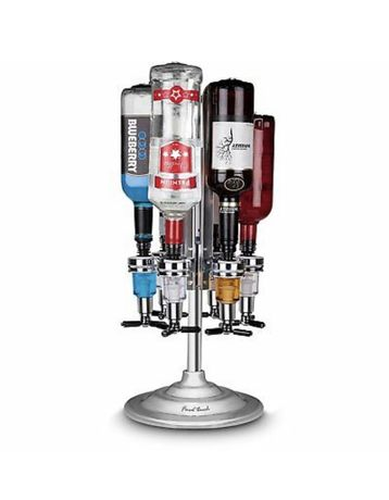 Stojak barmański bar caddy na 6 butelek final touch liquor dispenser