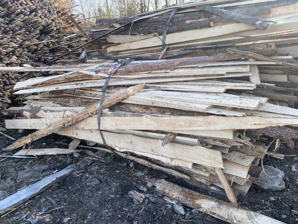 Okrajki, skrawki drewniane na opał