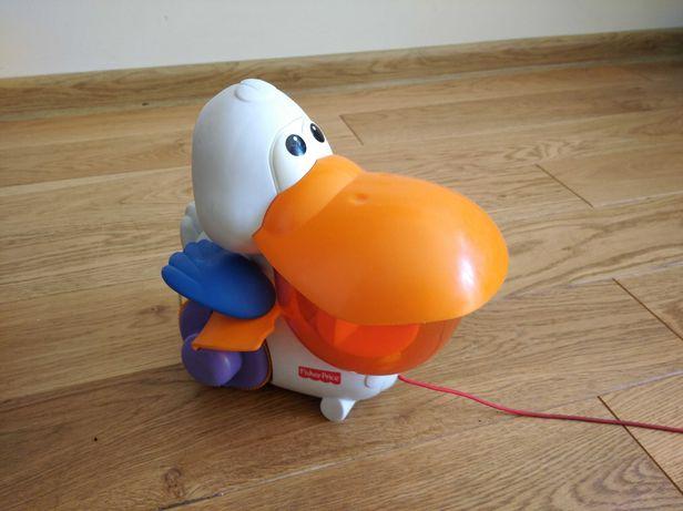 Pelikan Fisher Price zabawka interaktywna.
