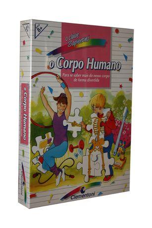 Puzzele Corpo Humano - Série o Clube Sapientino - Clementoni