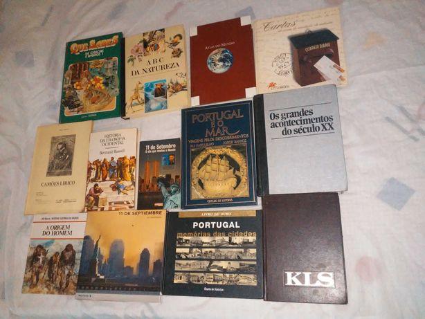 Livros desde 3€  bom estado