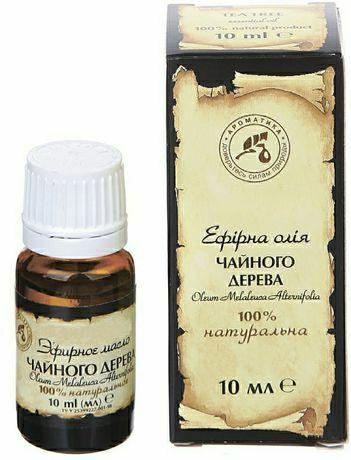 Эфирное масло Чайного дерева 10мл, природный антисептик