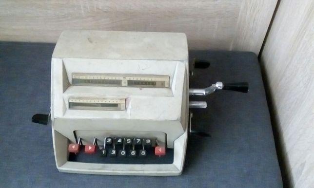 Stara maszyna PRL