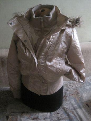 Куртка осень-весна на девочку подростка рост 152-158