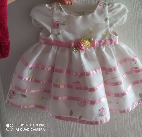 Sukienka wizytowa chrzciny