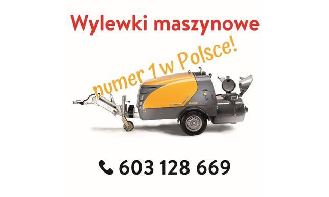 WYLEWKI Maszynowe nr.1 w Polsce/Posadzki/STYROBETON