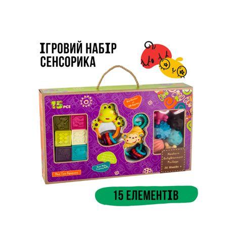 Ігровий набір Сенсорика 15 елементів NUKIED Купити в Україні