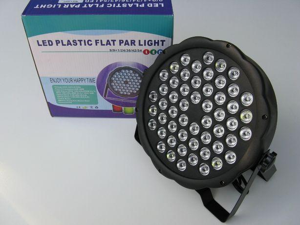 LED PAR 54x3W Светодиодные прожекторы. DMX. SLIM PAR 54*3W