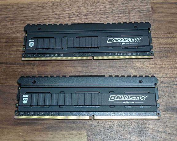 Pamięć RAM 8gb ddr4 ballistix elite 3200mhz 2x4
