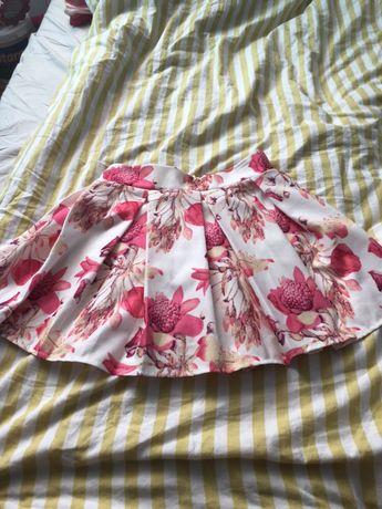 Kwiatowa, krótka spódniczka