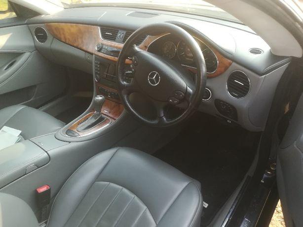 Wnętrze Mercedes cls w 219