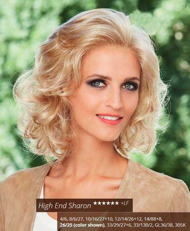 PEruka High end Sharon  deluxe Gisela Mayer  słoneczny blond