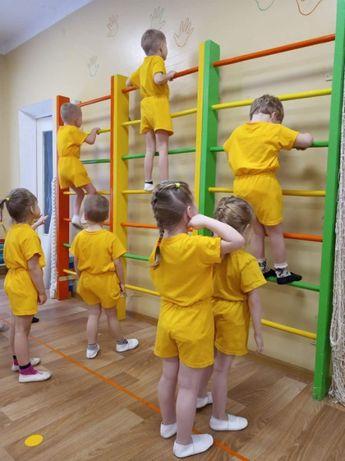 Форма на физкультуру в детский сад ( садик ) комплект футболка и шорты