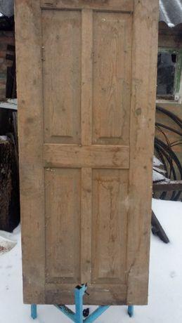 Двери фильончатые деревянные новые