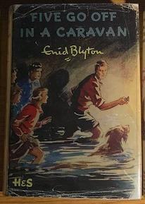 Five Go Off in a Caravan - Ed. original inglesa dos Cinco de E. Blyton
