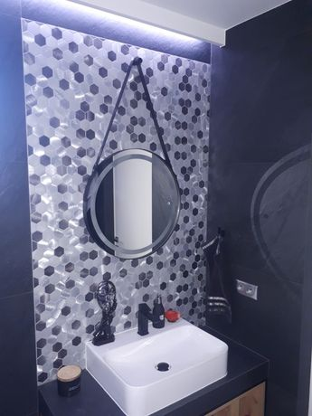 Mozaika Hex Aluminium