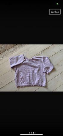 Zara nowa bluza liliowa 110